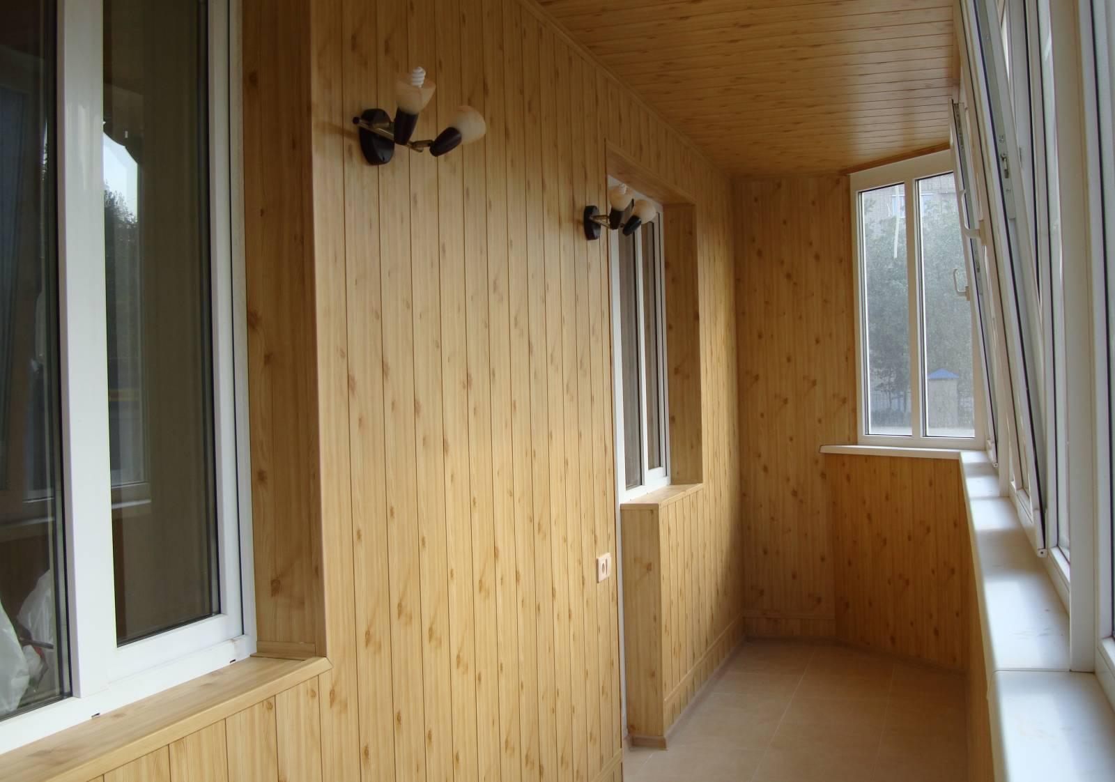 Обшивка балкона изнутри и снаружи своими руками: 5 вариантов.