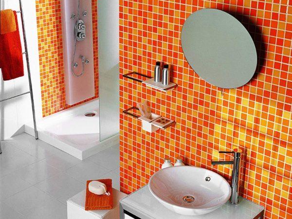 Кафель – наиболее популярный отделочный материал ванной