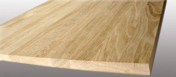 Клееный мебельный щит - идеальный материал для столешницы.