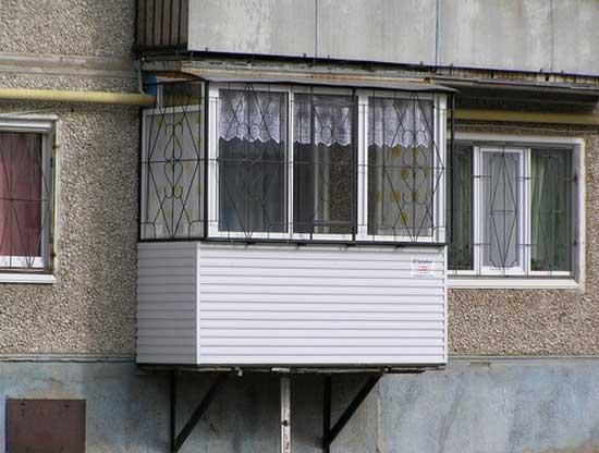 Консольный балкон