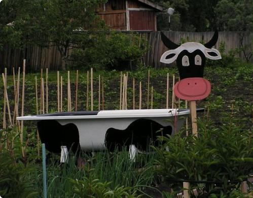 Корова или бегемот, самолет или автомобиль – чугунное корыто можно превратить во что угодно