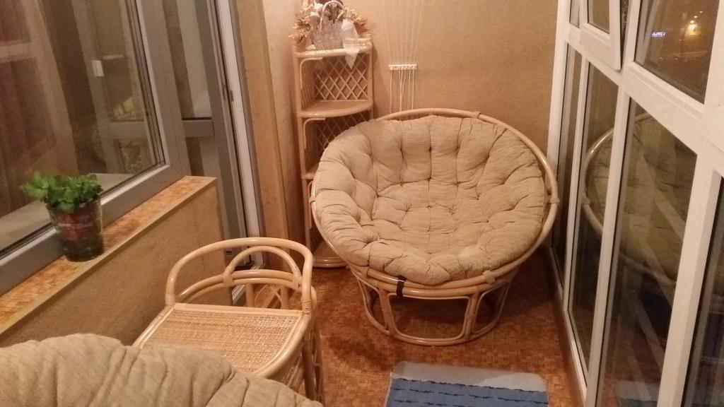 Мебель плетенна на балкон. - балконные блоки - каталог стате.