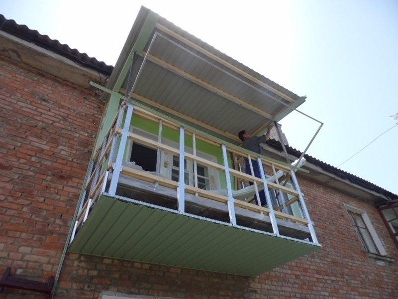 Балкон своими руками: 4 шага самостоятельной отделки obustro.