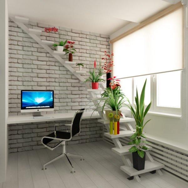 Лестница в квартире: от монументальности к легкости.