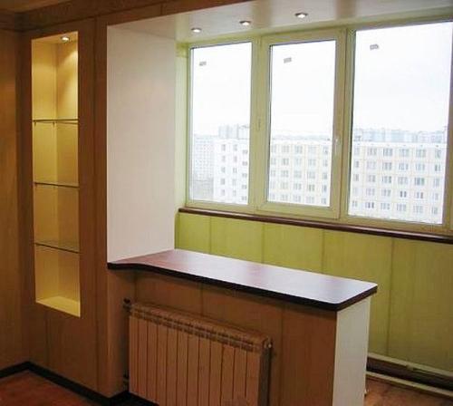 Дизайн утепленной лоджии совмещенной с комнатой.