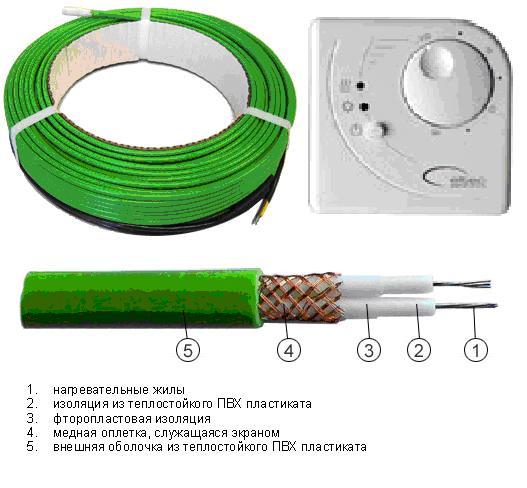Лучше использовать кабели, оборудованные термодатчиками и контроллерами управления.