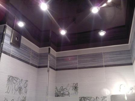 Материал для потолка в ванной должен отвечать определенным требованиям.