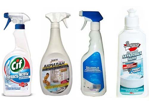 Мыть поверхность нужно щадящими средствами