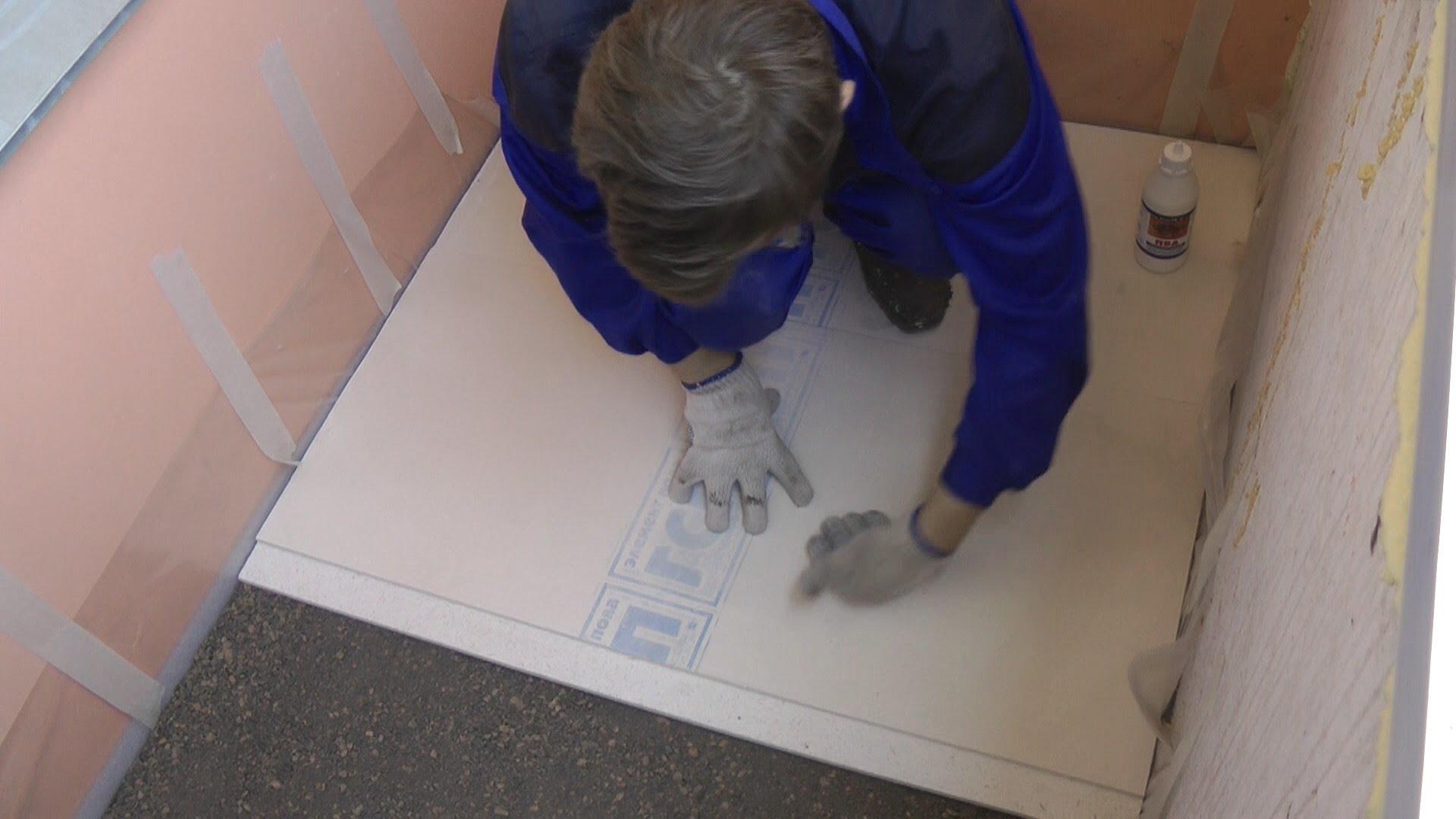 Как утеплить пол на балконе керамзитом: инструкция в 15 шаго.