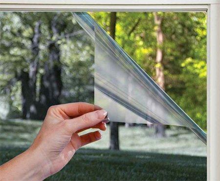 На фото: тонировка позволяет быстро изменить светопропускаемость стекла или укрепить его