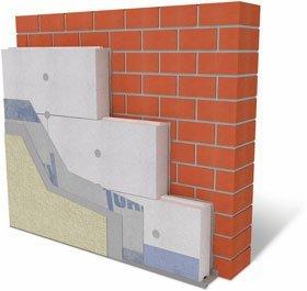 Наружная система утепления – самый предпочтительный вариант для стен