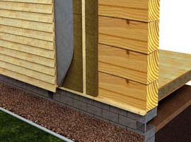 Наружное утепление стен позволяет существенно повысить энергоэффективность постройки.