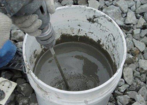 Некоторые гидроизоляционные растворы нужно готовить перед использованием.