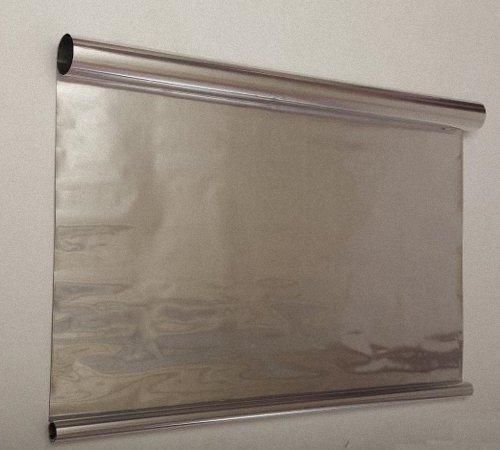 Необходимая деталь – алюминиевая фольга для теплоотражающего слоя.