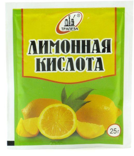 Нужно растворить 25 граммов лимонной кислоты в 250 граммах воды