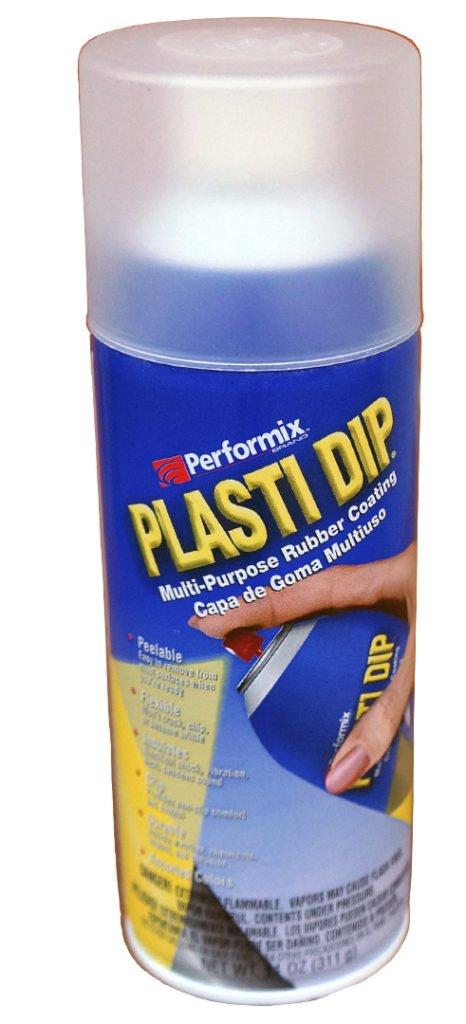 Образец жидкой резины в виде спрея «Пластидип»