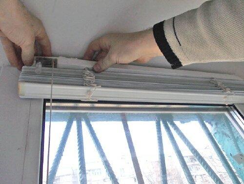 Как устанавливать жалюзи на окно