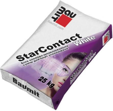 Один из самых дорогих составов - BAUMIT Стар Контакт
