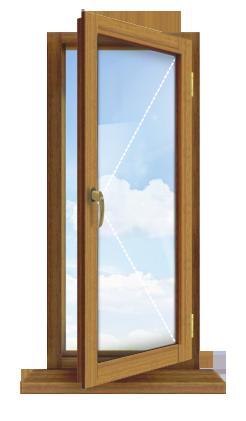 Одностворчатые деревянные рамы устанавливаются в небольших, преимущественно хозяйственных помещениях, где светопропускающая способность не так уж и важна