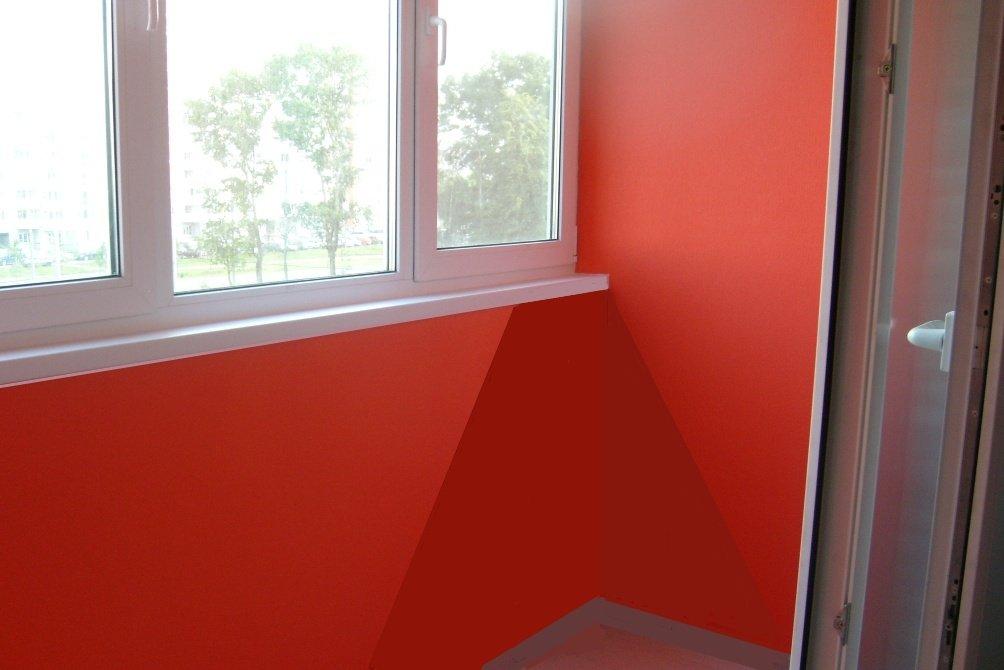 Отделка балконов под покраску своими руками