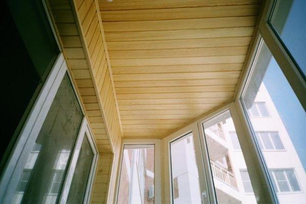 Отделка стен и потолка деревянной вагонкой