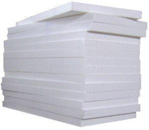 Пенопласт отлично подходит для теплоизоляции дома из шлакоблока.