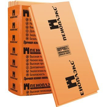 ПЕНОПЛЕКС 45 – большая прочность, хорошая теплопроводность.