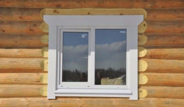 Пластиковое окно в деревянном доме, о его установке вы тоже узнаете из этой статьи