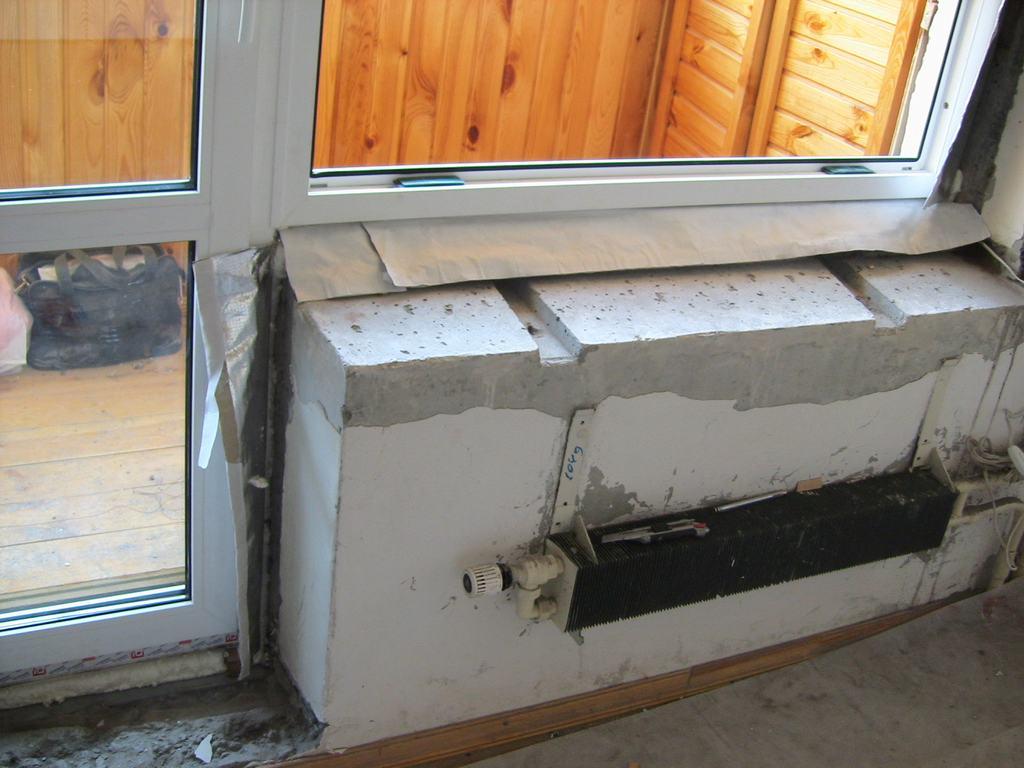 Как установить пластиковый балконный блок своими руками