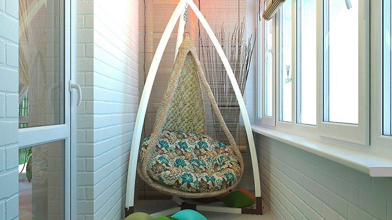 Кресло на балкон или лоджию: подвесные, раскладные конструкц.
