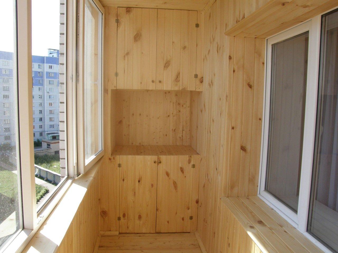 Обшивка балкона вагонкой - Чебоксары, Чувашия * do-ska.top.