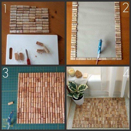Порядок изготовления самодельного коврика