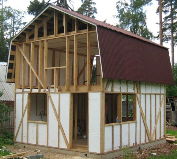 Применяемые для утепления каркасной постройки материалы должны отвечать определенным требованиям.