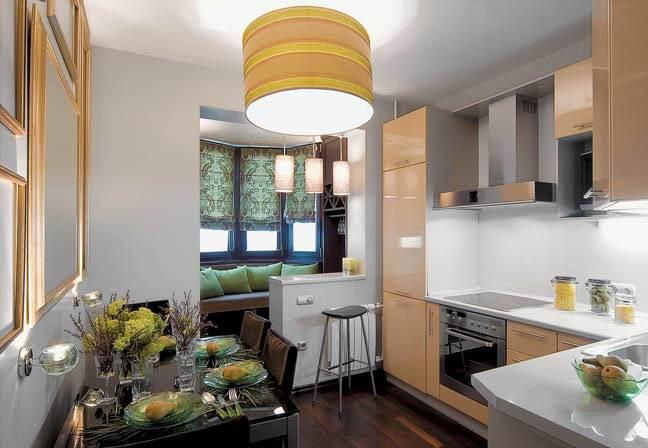 интерьер кухни с диваном советы быть