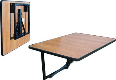 Промышленный вариант откидного столика.