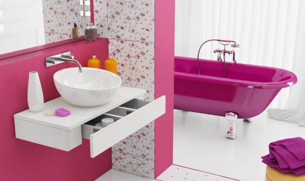 Розовый – это широчайшая палитра от пастельного до насыщенной неоновой фуксии