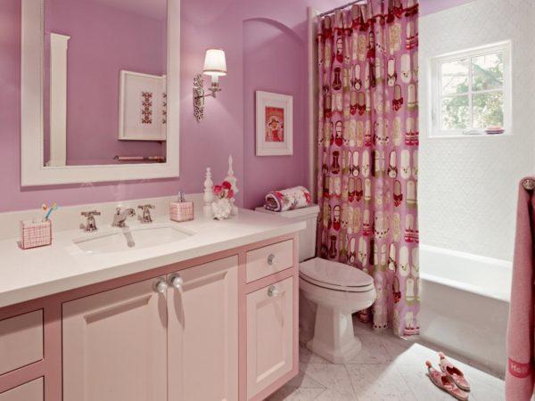 Розовый – один из тех цветов, которые уместны во всех стилях от прованса с французскими нотками и духом Эйфелевой башни до технологичного хай-тек
