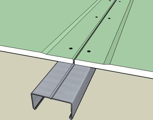 Схема установки гипсокартонных листов.