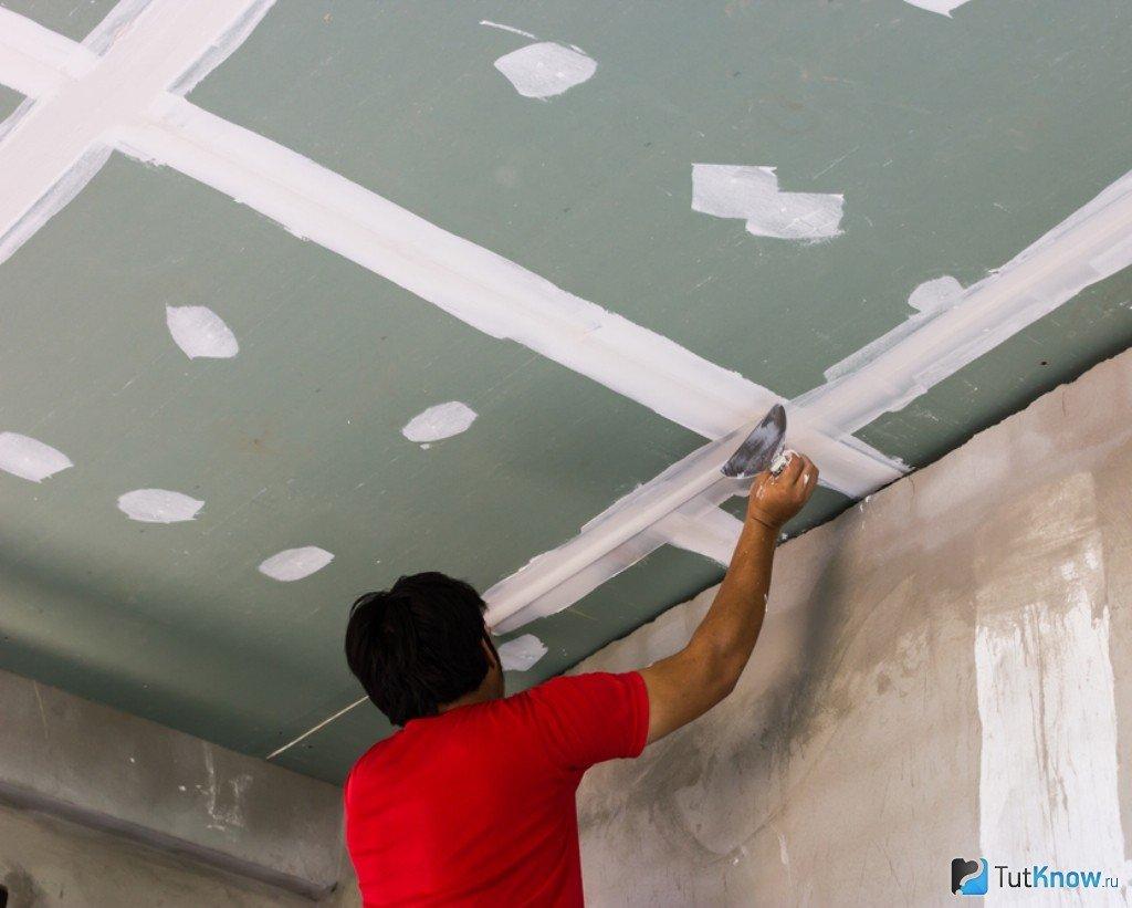 Как своими руками сделать с гипсокартона потолок 9