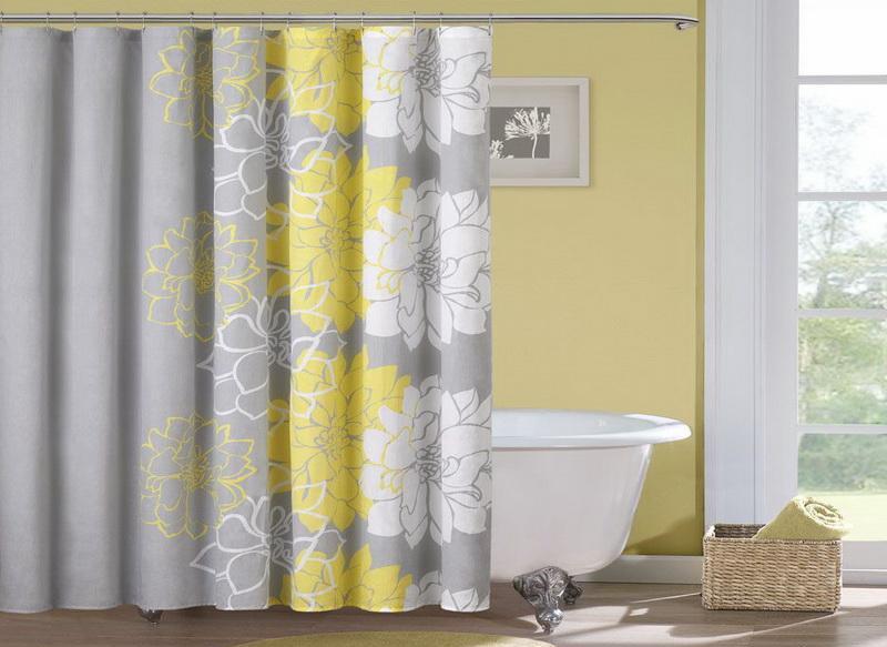Картинки по запросу яркая шторка в ванную