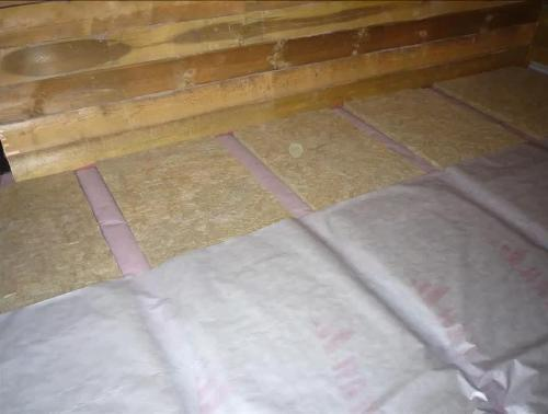 Утеплить деревянный пол в деревянном доме видео