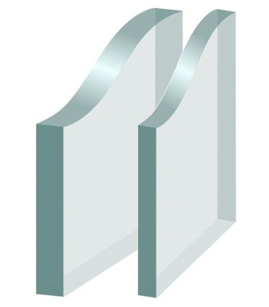 Только увеличив толщину стекол, добиться повышения звукоизоляции нельзя.