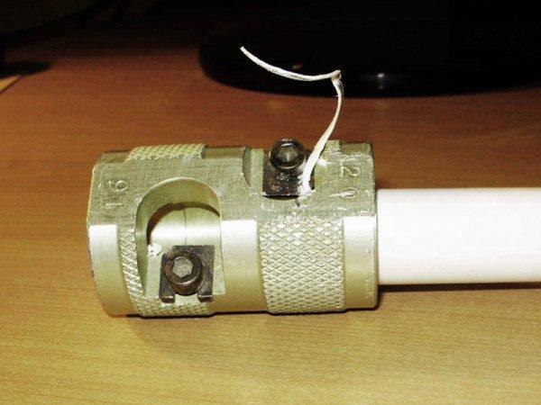 Трубы PPR PN-25 нужно зачищать шайвером
