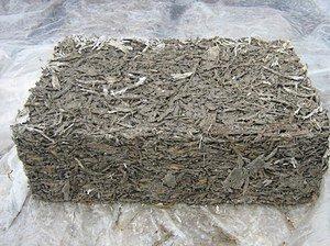 Цементный брикет.