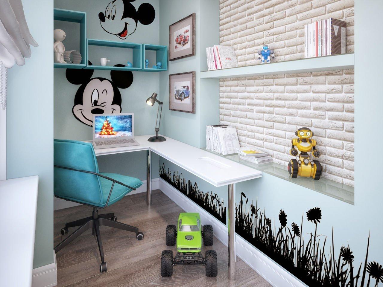 Как использовать балкон в детской комнате??? организовать та.