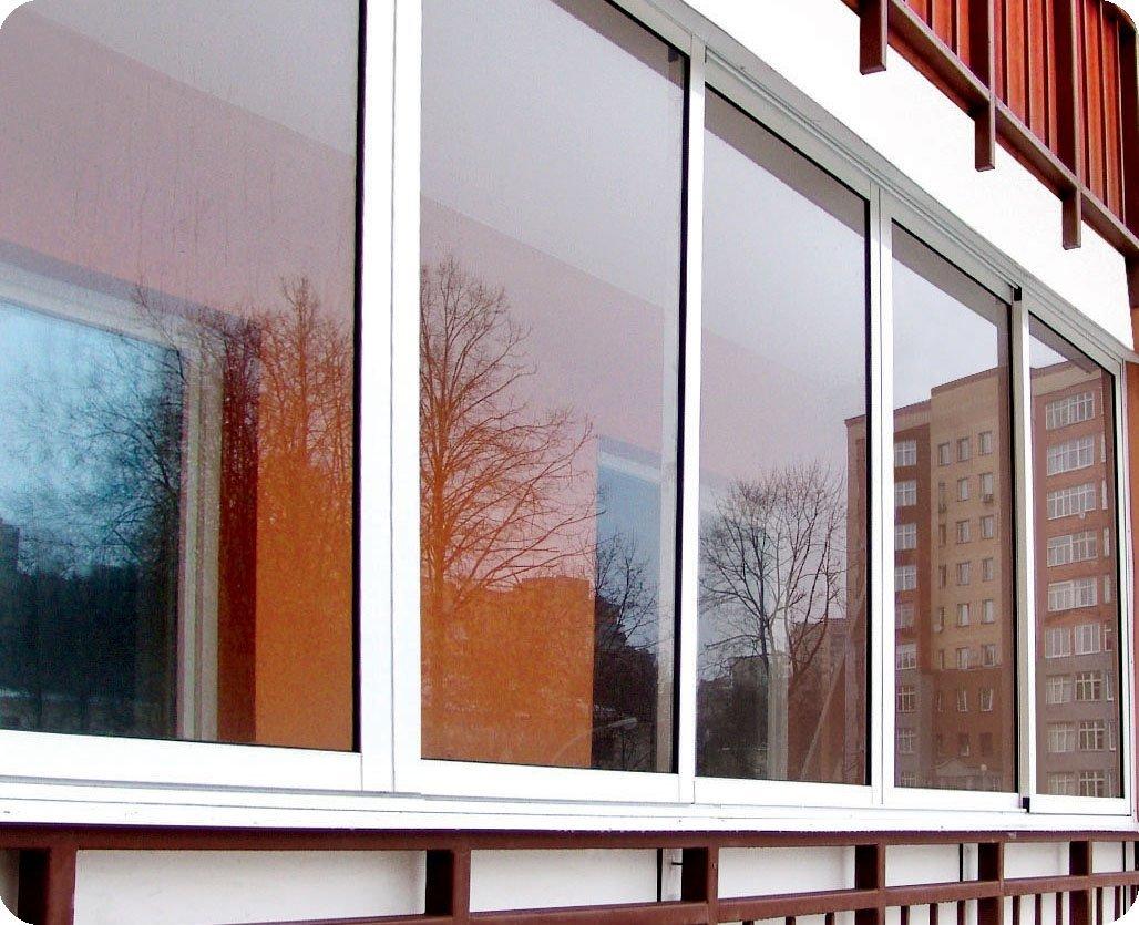 """Холодное"""" алюминиевое остекление балконов и лоджий компания ."""