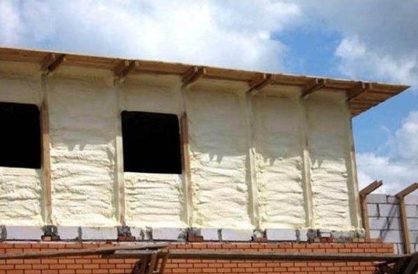 Утепление наружных стен дома.