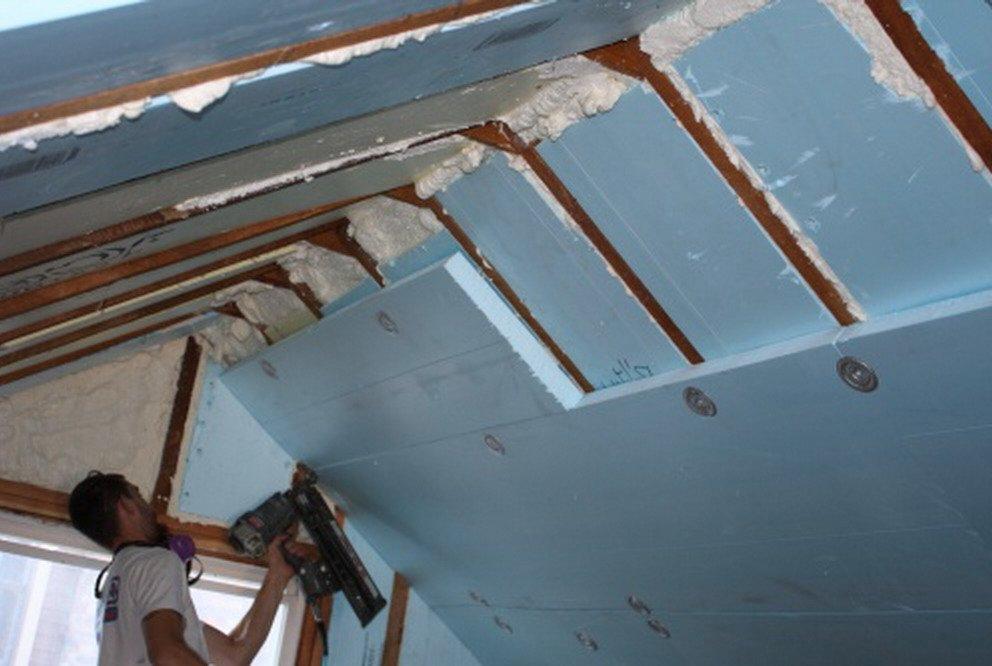 Утеплить деревянный потолок пенопластом своими руками 67