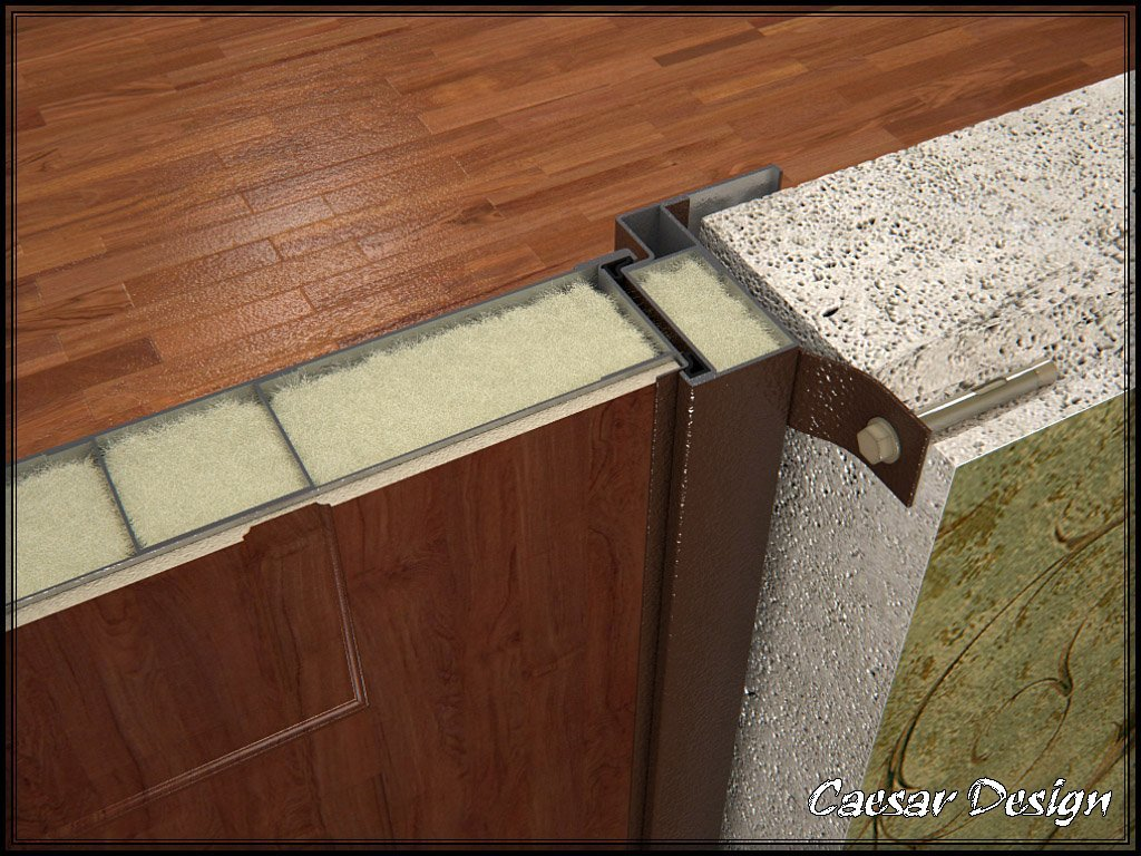 Как сделать коробку для входной двери своими руками