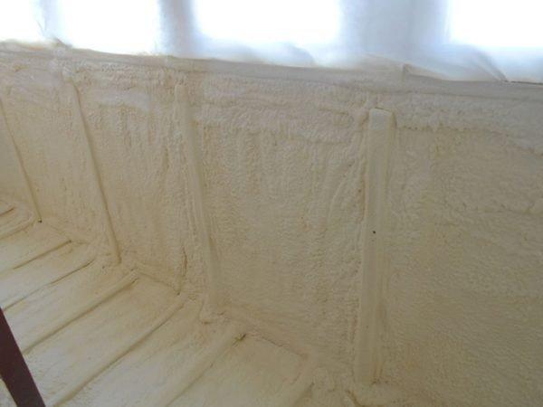 Утепленный пенополиуретаном балкон